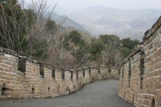 Mutianyu - Mauer und Wald