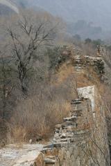 Ein unrestauriertes Stück der chin. Mauer