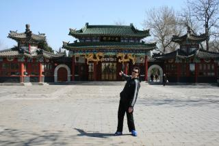 Mit Steve in Peking unterwegs