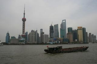 Shanghai Skyline des Financial District